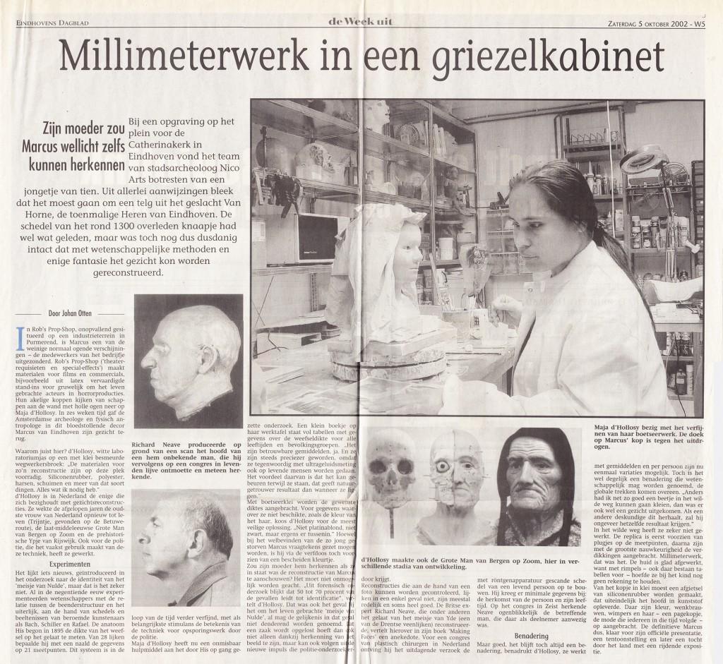 Eindhovens Dagblad, 5-okt-2002