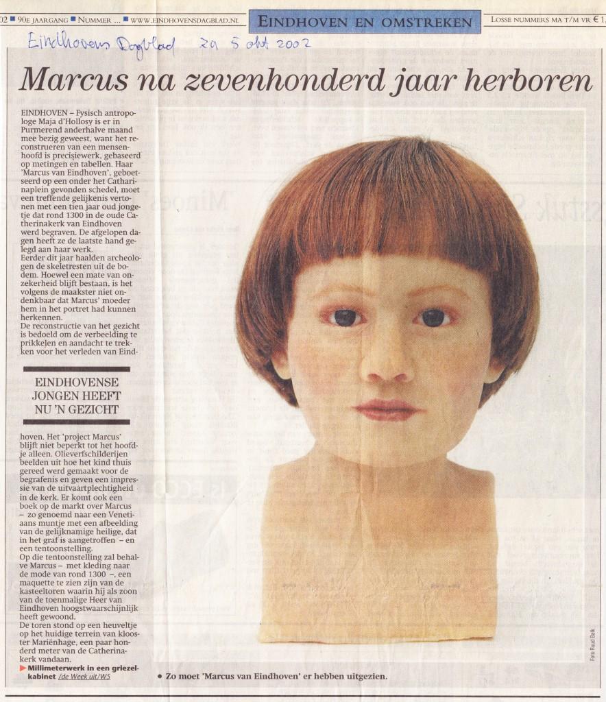 Eindhovens Dagblad, 5-10-2002