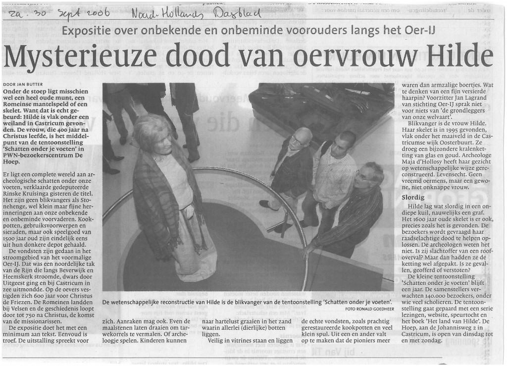 Noord Hollands dagblad, 30-09-2006