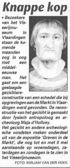 Telegraaf, 14-1-2003