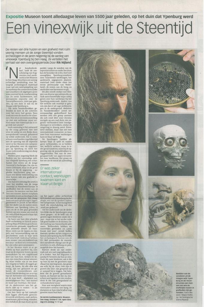 Volkskrant, 15-11-2008