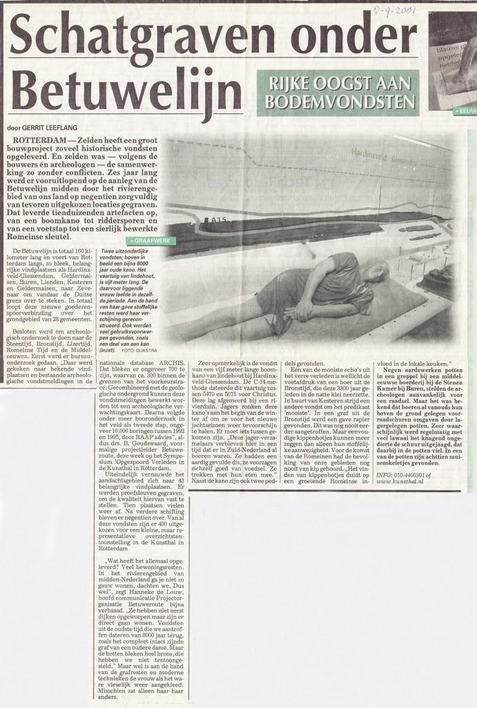 onbekende krant, 8-9-2001