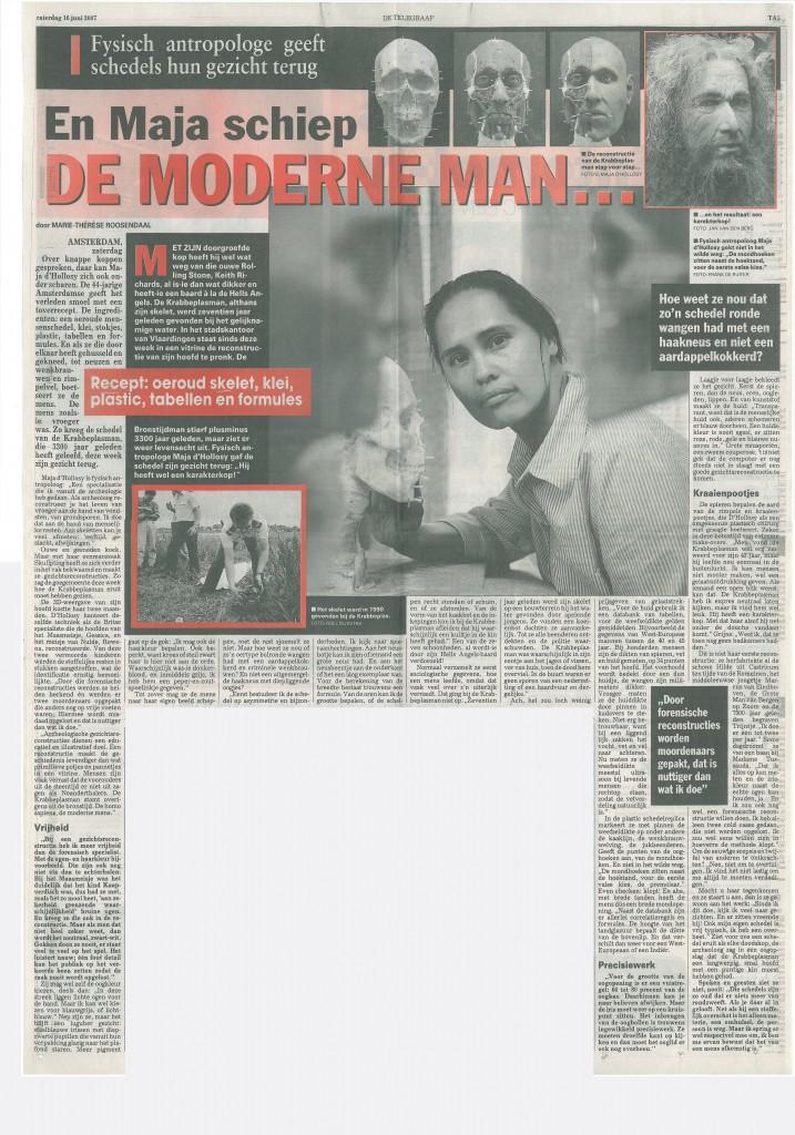 Telegraaf, 16-06-2007