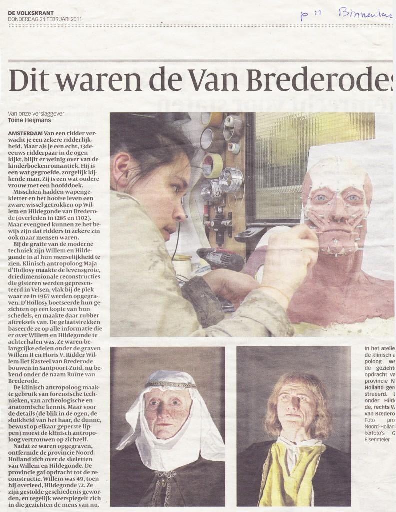 Volkskrant, 24-2-2011