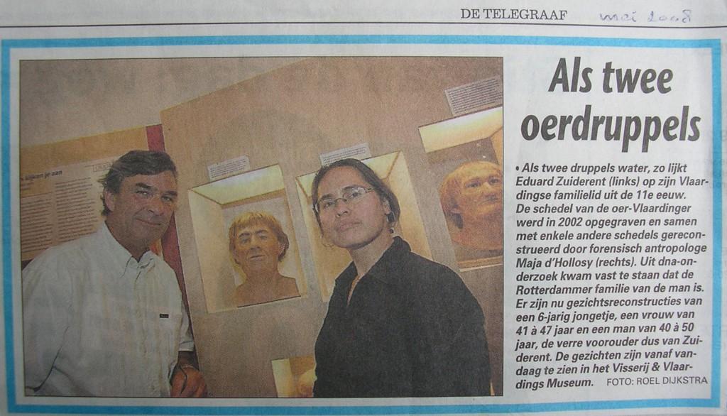 Telegraaf, mei 2008.