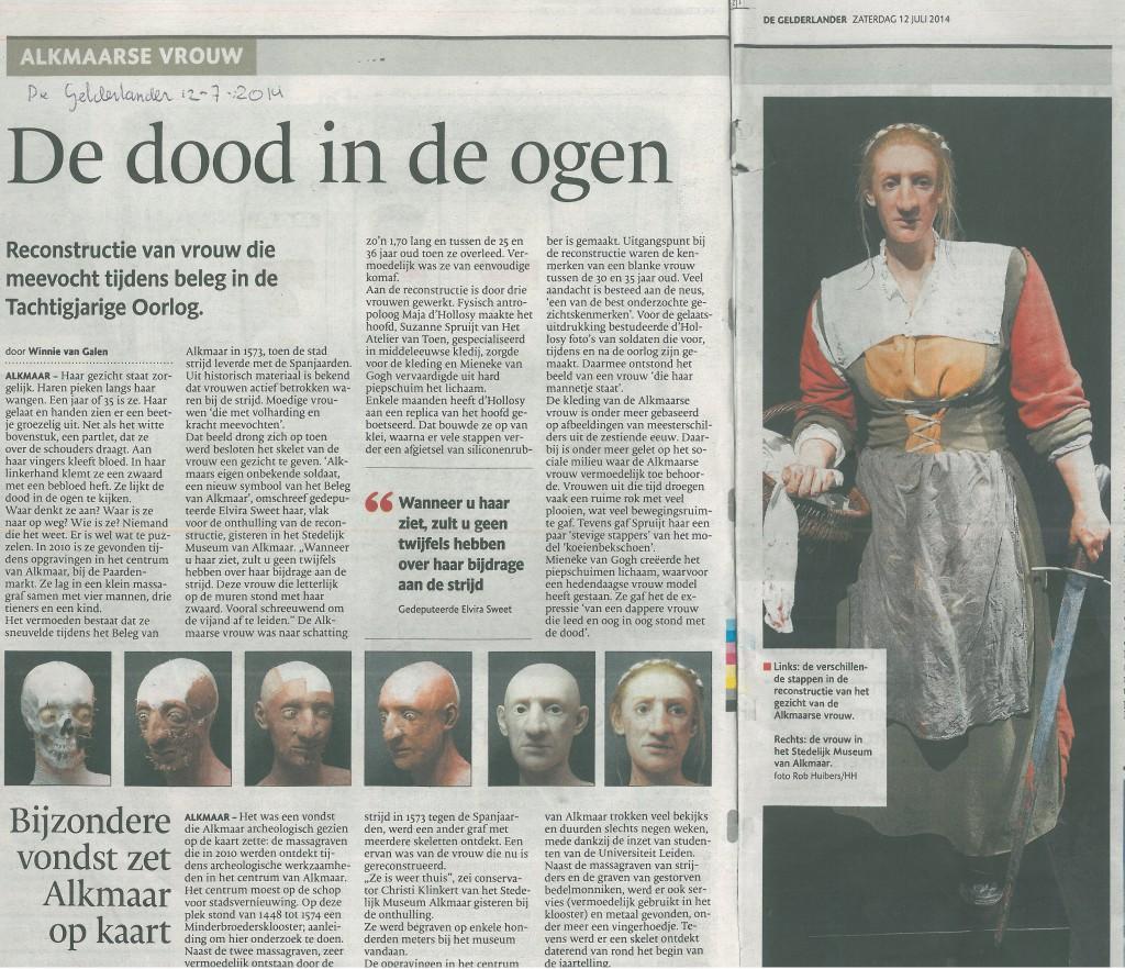 De Gelderlander 12-07-2014