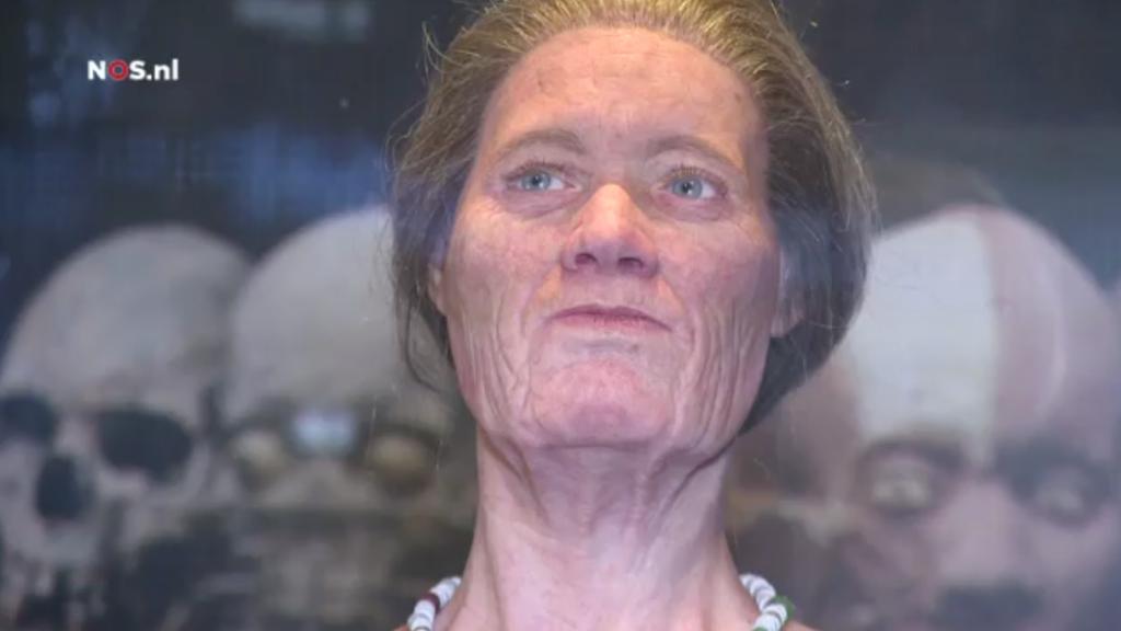 Friezin uit zevende eeuw krijgt gezicht NOS