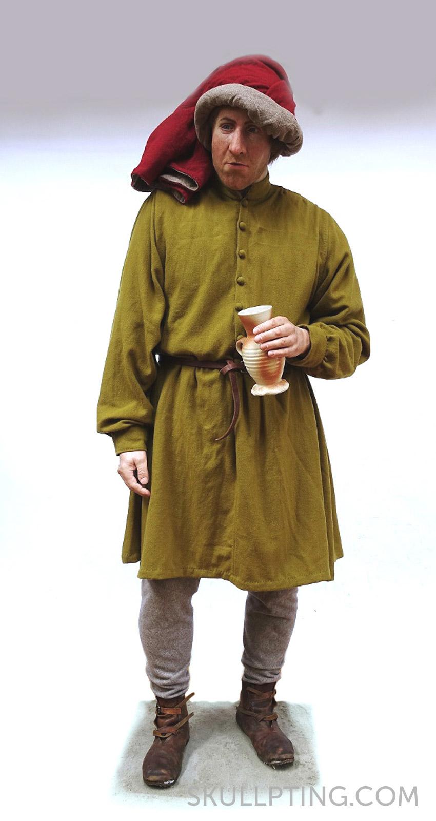 Cornelis fully dressed. Picture and body: Mieneke van Gogh. Clothing: Marije de Mol.