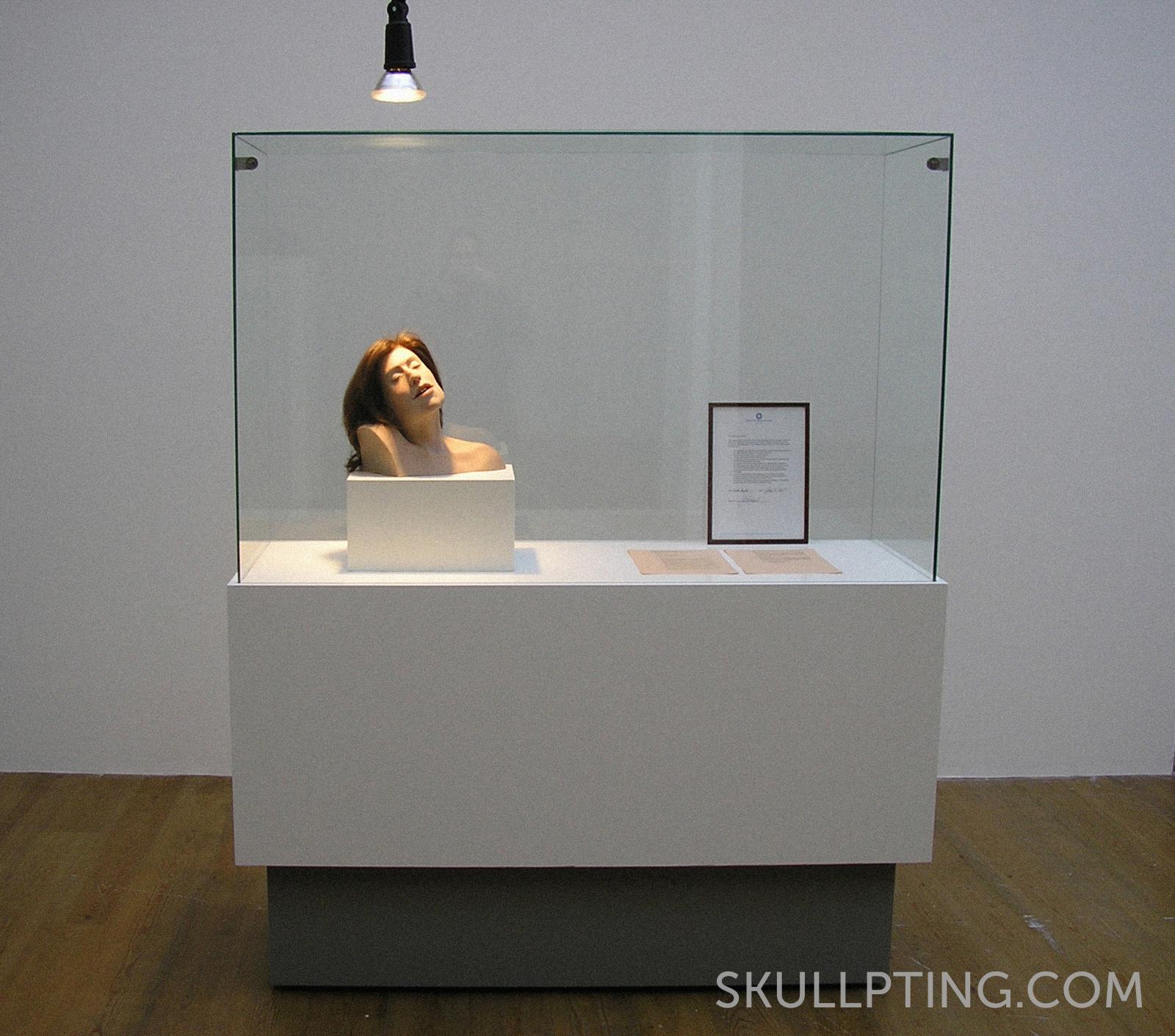 Het beeld in het museum