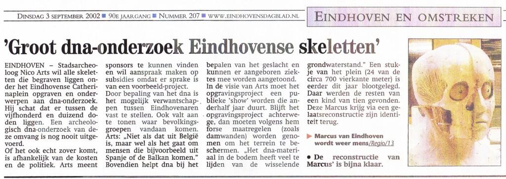 Eindhovens Dagblad, 3-9-2002