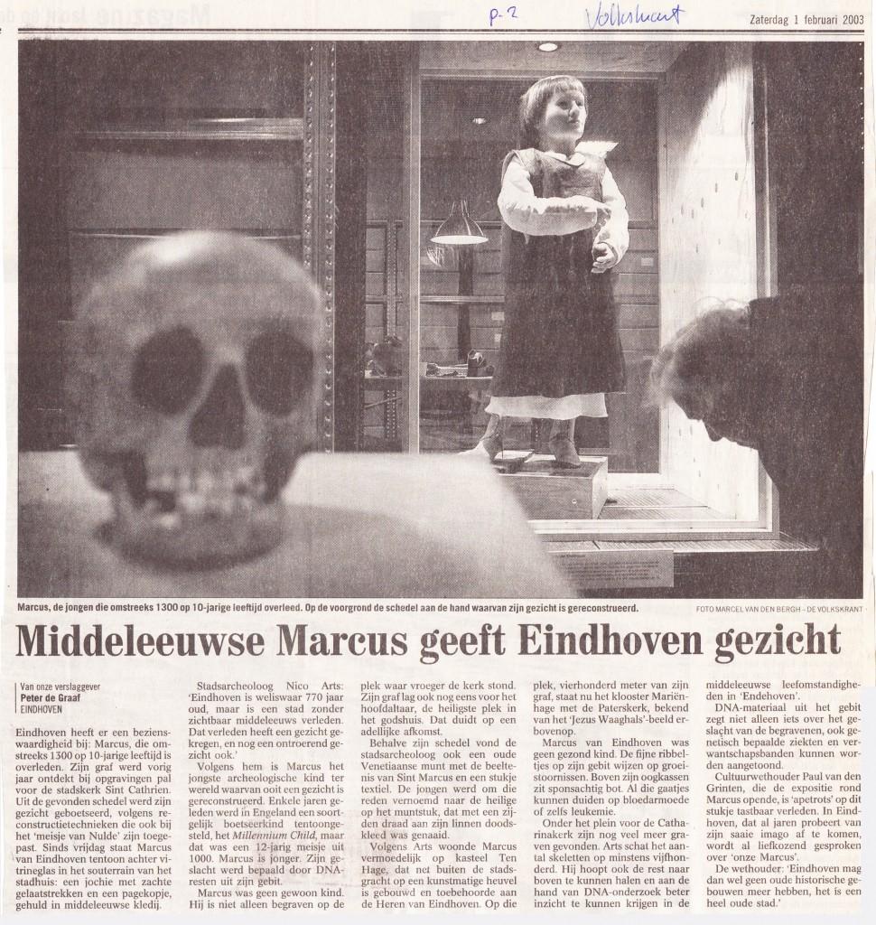 Volkskrant, 1-2-2003