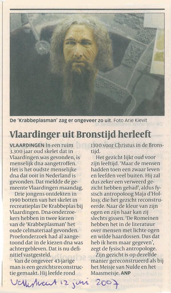 Volkskrant, 12-06-2007