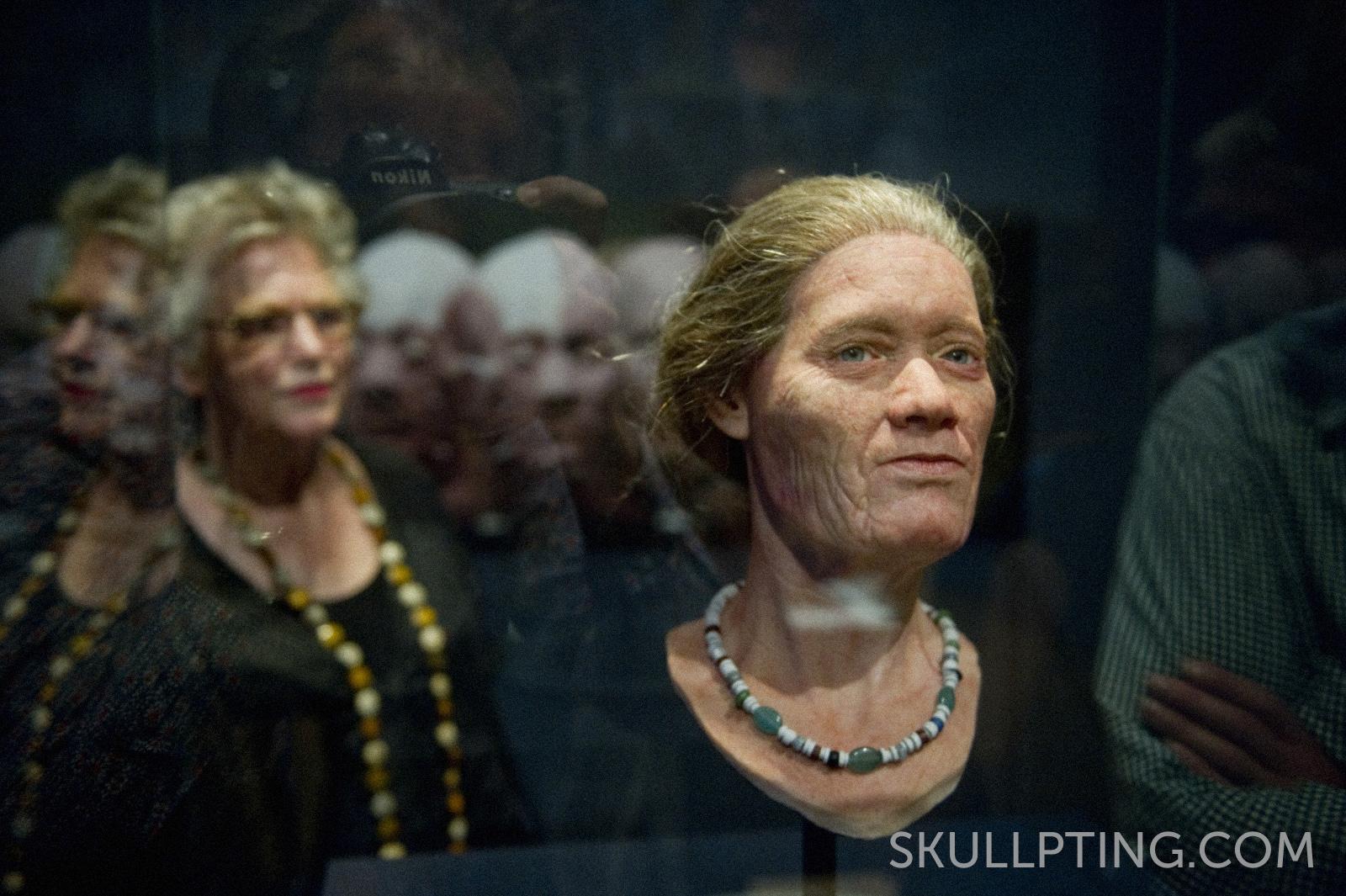 The lady of the terp in the Fries Museum, picture: fotobureau Hoge Noorden