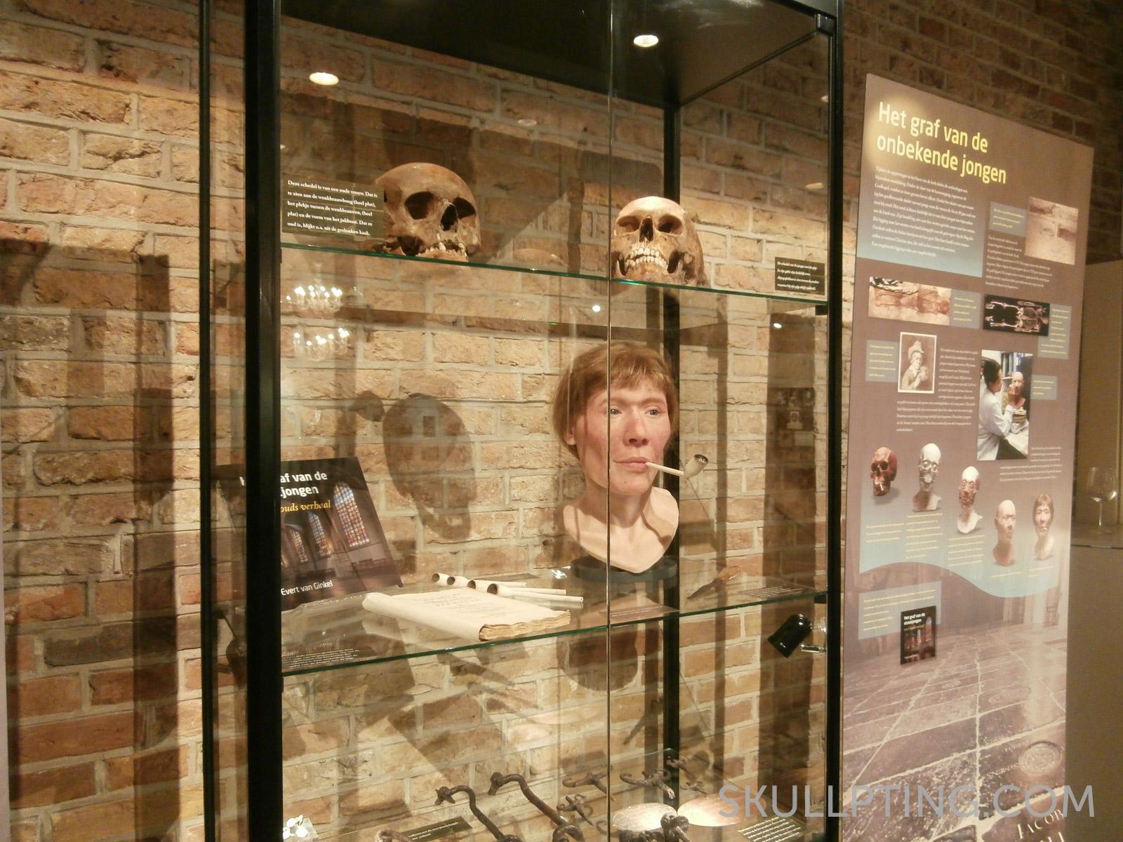 The exhibition in the Sint-Janskerk in Gouda.